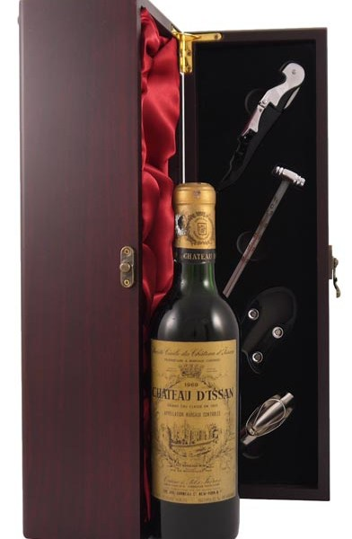 1969 Chateau D'Issan 1969 Grand Cru Classe Margaux (1/2 Bottle)