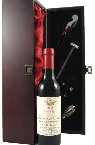 1969 Chateau La Couronne 1969 Pauillac Cru Exceptionnel (1/2 bottle)