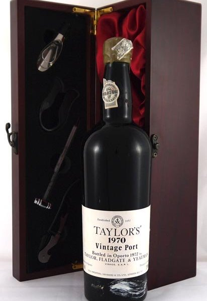 1970 Taylor Fladgate Crusted Port 1970