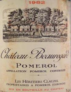 1978 Chateau Beauregard 1978 Pomorol