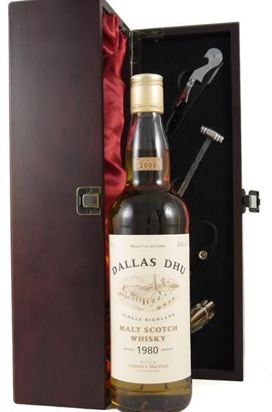 1980 Dallas Dhu Highland 20 year old Malt Whisky 1980