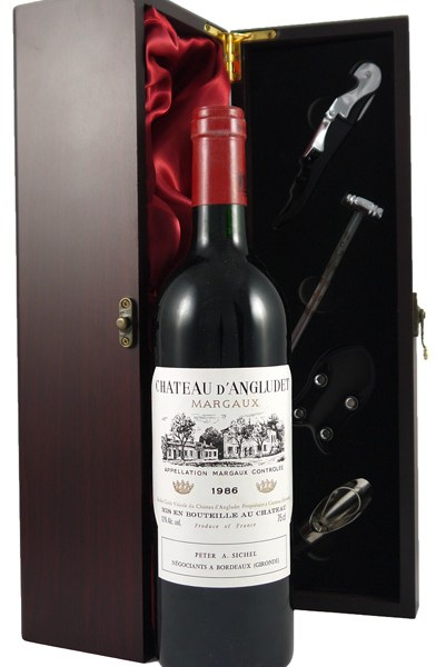 1986 Chateau D'Angludet 1986 Margaux