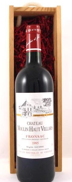 1995 Chateau Moulin Haut Villars 1995 Bordeaux
