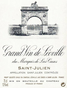 1996 Chateau Leoville Lascasses  12  bottle OWC 1996