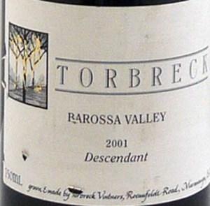 2002 Torbreck 2002 The Steading (12 bottles)