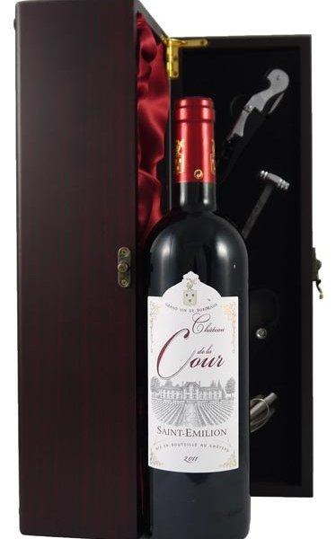 2011 Chateau de la Cour 2011 St Emilion Grand Cru (12 bottles)