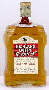 (60s bottling) Highland Queen Grand 15 Scotch Whisky (60s bottling)