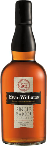 Evan Williams - 2004 Single Barrel 70cl Bottle