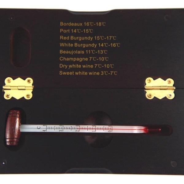 Fine wine thermometer