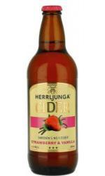 Herrljunga - Strawberry & Vanilla 12x 500ml Bottles