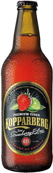 Kopparberg Premium Cider - Strawberry & Lime 15x 500ml Bottles