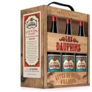 Les Dauphins Côtes Du Rhône Villages Wine Box 2.25l