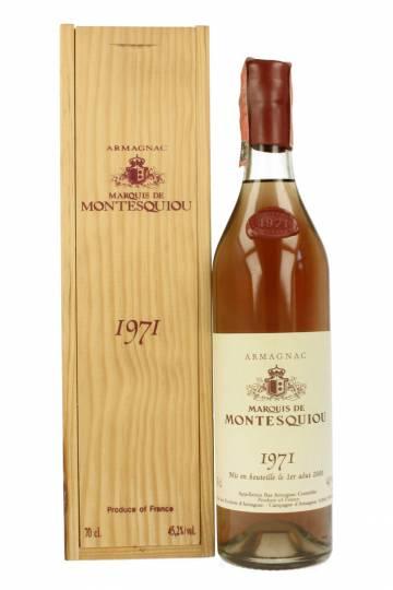 Marquis de Montesquiou - Armagnac 1971 70cl Bottle
