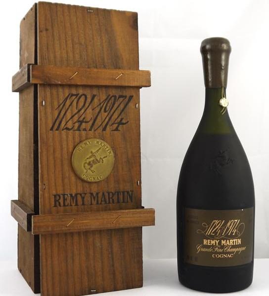 Remy Martin Grande Fine Champagne Cognac 250th Anniversary 1724-1974