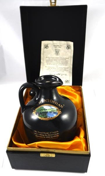 Royal Cask Deluxe Scotch Whisky Decanter (1980's)
