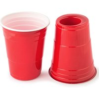 180-Cup Red American Party Cup and Shot Glass (Pack of 50)
