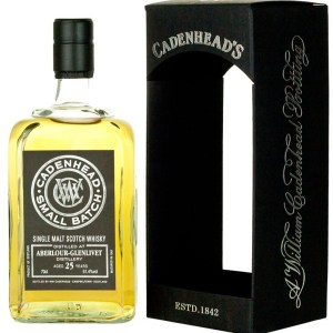 Aberlour 25 Year Old 1990 Cadenhead's Small Batch