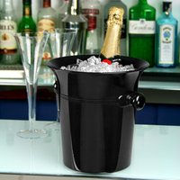 Acrylic Wine & Champagne Bucket Black (Case of 36)