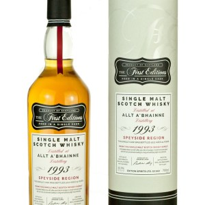 Allt-a-Bhainne 24 Year Old 1993 First Editions