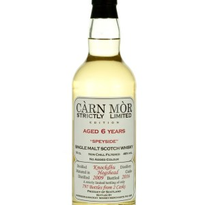 AnCnoc (Knockdhu) 6 Year Old 2009 Carn Mor Strictly