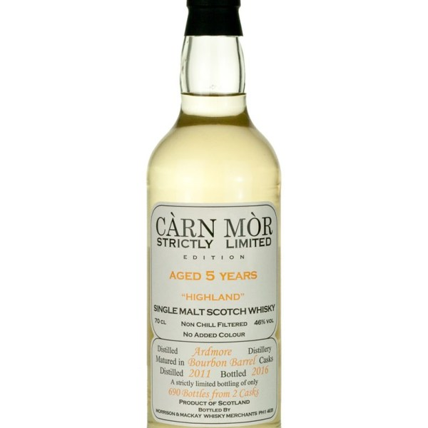 Ardmore 5 Year Old 2011 Carn Mor Strictly Limited
