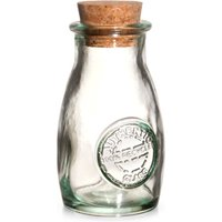 Authentic Recycled Glass Spice Bottle with Cork Lid 3.5oz / 100ml (Case of 12)