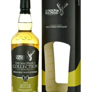 Balblair 10 Year Old MacPhail's Collection