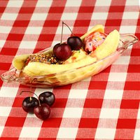Banana Split Ice Cream Dishes (Pack of 4)