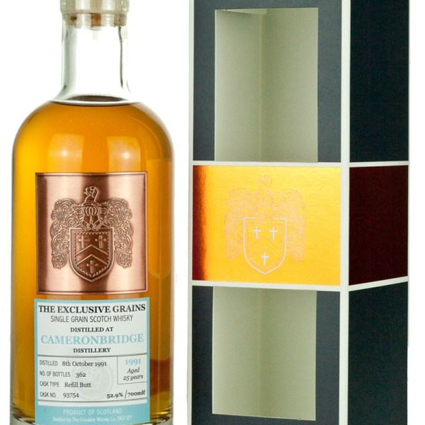 Cameronbridge 25 Year Old 1991 Exclusive Malts