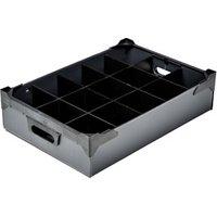 Champagne Saucer Storage Box 15 Compartment (Single)