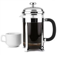 Chrome Cafetiere 6 Cup (Single)