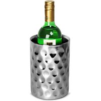 Double Walled Hammered Dimple Effect Wine Cooler (Single)
