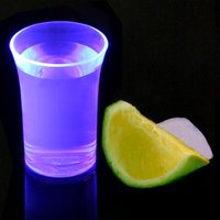 Econ Neon Purple Polystyrene Shot Glasses CE 1.25oz / 35ml (Case of 100)