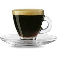 Entertain Espresso Cups & Saucers 2.8oz / 80ml (Case of 12)
