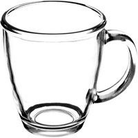 Essentials Glass Mugs 13.7oz / 390ml (Case of 12)