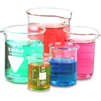 Glass Measuring Beaker Set