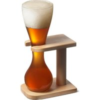 Glass Quarter Yard of Ale with Stand (Single)