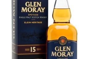 Glen Moray 15 Year Old Speyside Single Malt Scotch Whisky