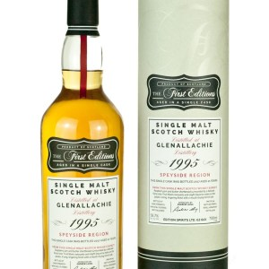 Glenallachie 21 Year Old 1995 First Editions