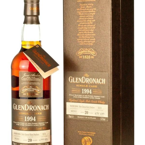 Glendronach 20 Year Old 1994 Batch 12