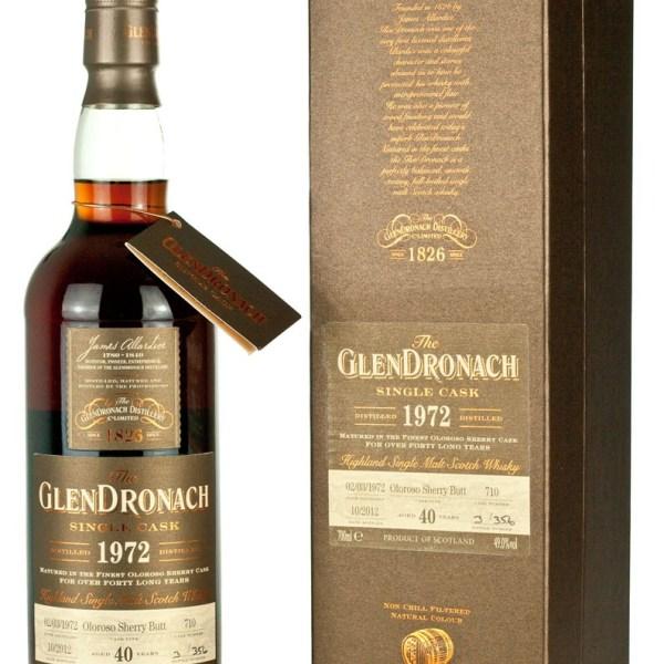 Glendronach 40 Year Old 1972 Batch 7