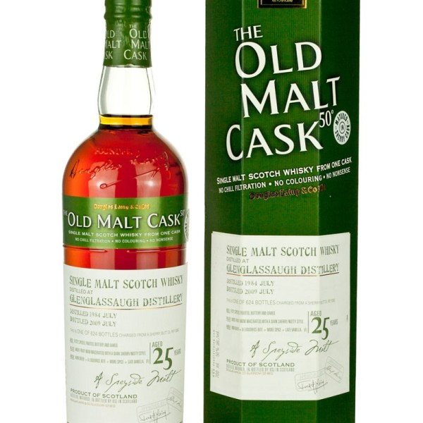 Glenglassaugh 25 Year Old 1984 Old Malt Cask