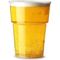 Katerglass Plastic Pint Tumblers 22oz LCE at 20oz (Pack of 25)