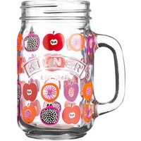 Kilner Handled Drinking Jar Fruit Punch 14oz / 400ml (Case of 12)