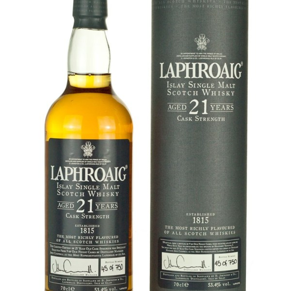 Laphroaig 21 Year Old Terminal 5