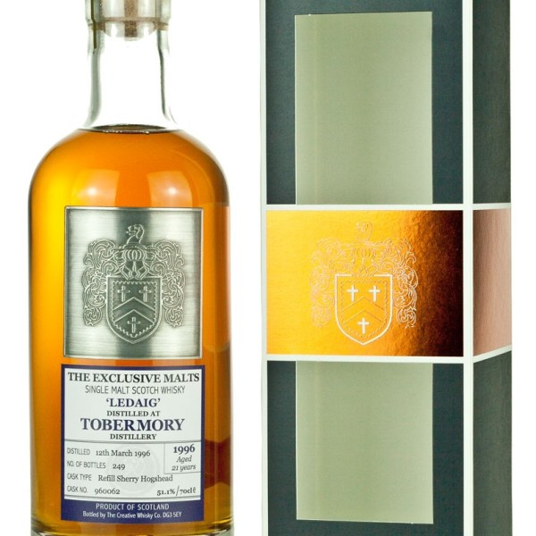Ledaig (Tobermory) 21 Year Old 1996 Exclusive Malts