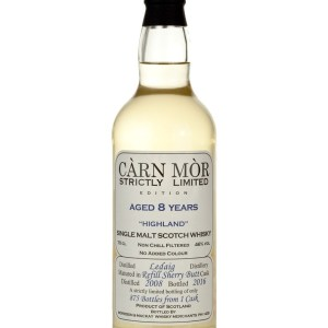Ledaig (Tobermory) 8 Year Old 2008 Carn Mor Strictly