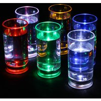 Liquid Activated Flashing Shot Glasses 2.1oz / 60ml (Case of 120)