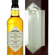 Macallan 1985 Scott's Selection