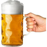 Plastic Beer Stein CE Lined at 2 Pints (Case of 24)